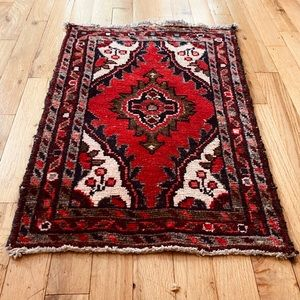 Vintage Persian Wool Tapestry